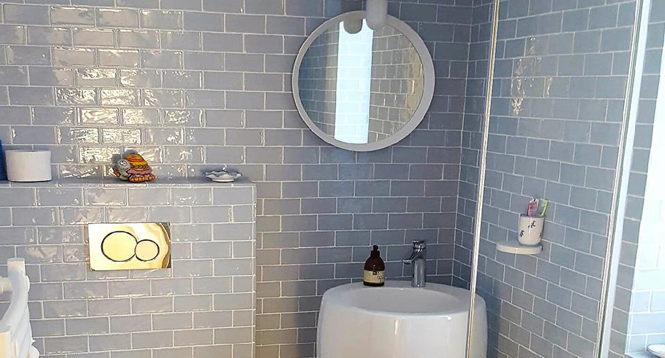 Création de salle de bain, carreleur sur Plabennec
